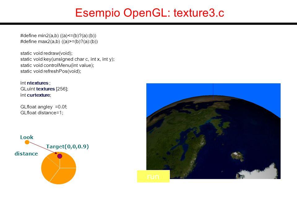 Fractal Terrains Concetto di base Self-similarity Tecniche principali: Midpoint displacement Sintesi per somma di funzioni Usiamo la suddivisione di triangoli e le texture 1D (piu semplice ma non ottimizzata)