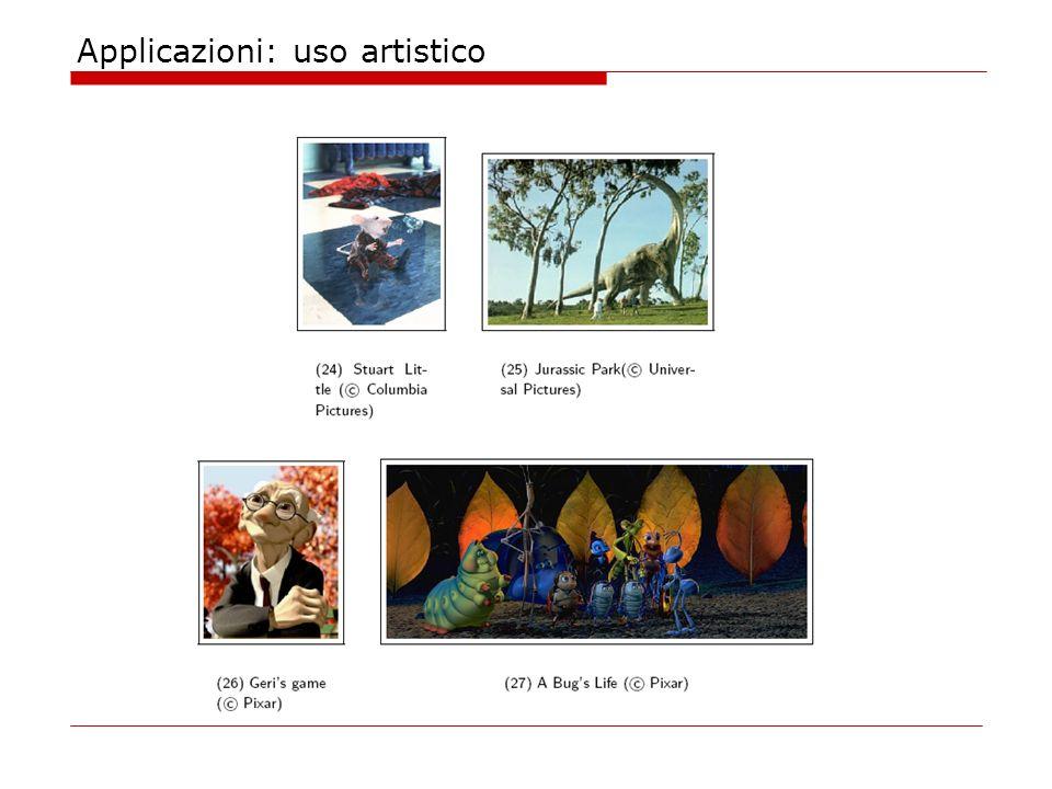 Applicazioni: uso artistico