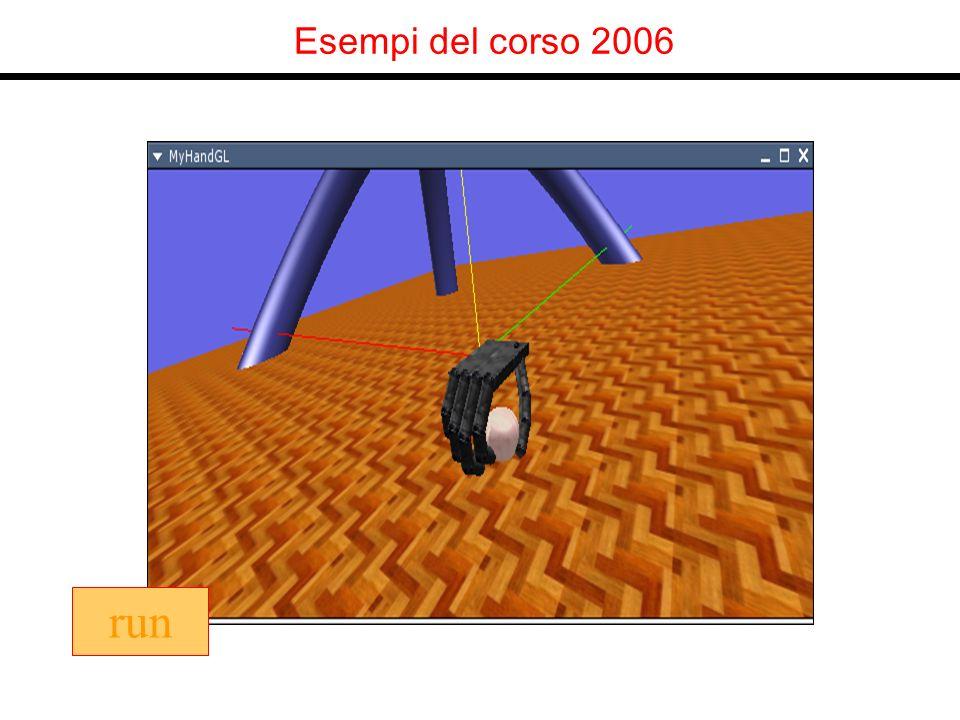 Esempi del corso 2006 run
