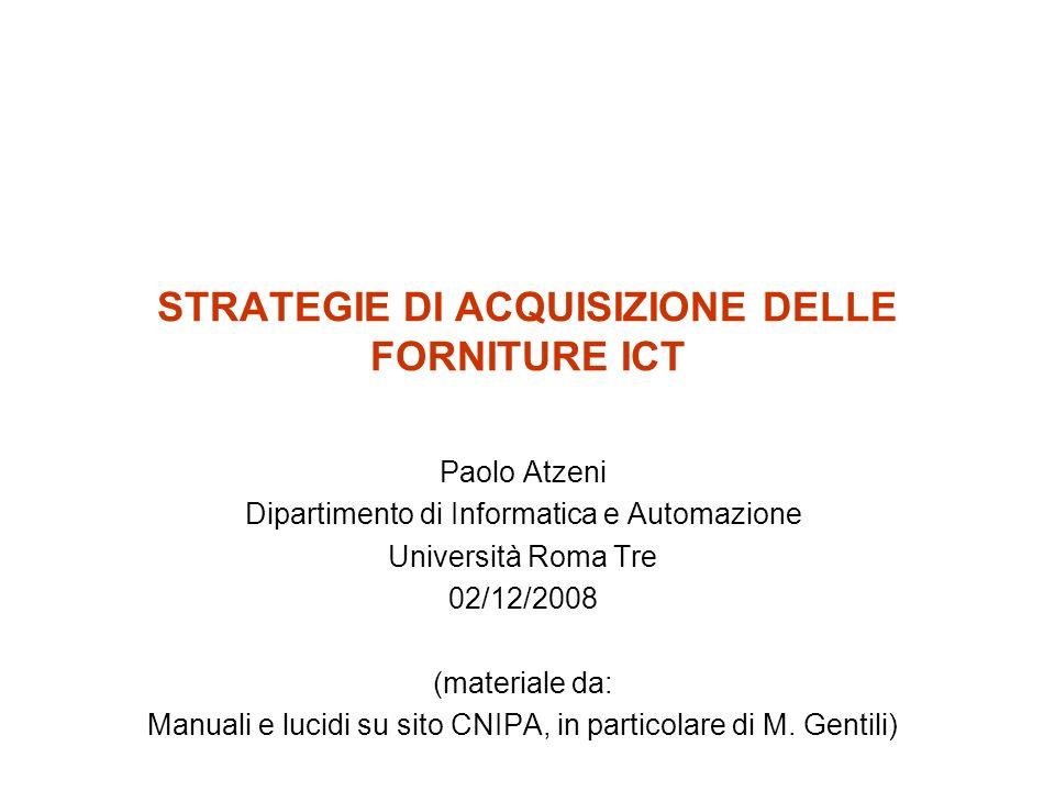 Sistemi e servizi ICT 02/12/20082 Attività interna 1 Attività interna 2 Attività interna m Interlocutore 1 Interlocutore 2 Interlocutore n SERVIZI ICT SISTEMI ICT