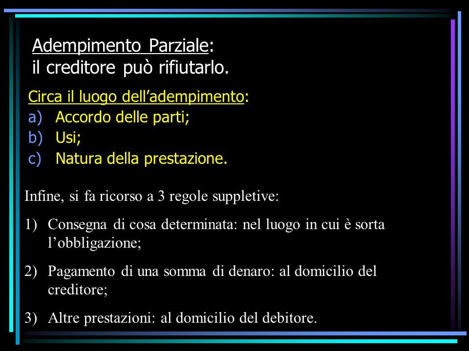 MODI DI ESTINZIONE DELLOBBLIGAZIONE DIVERSI DALLADEMPIMENTO SATISFATTORI: -Compensazione; -Confusione.
