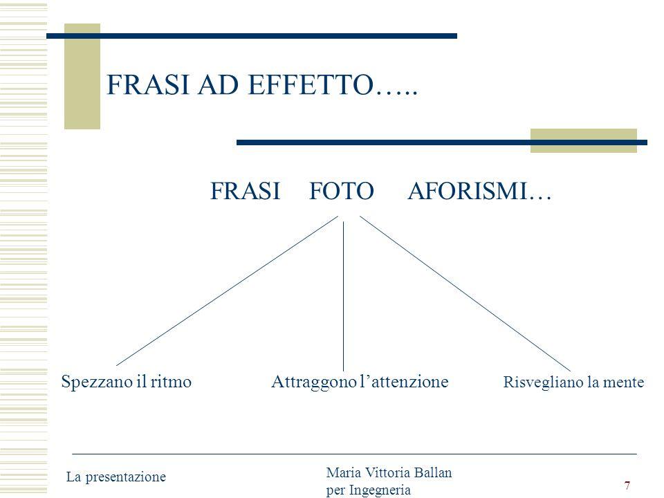 7 FRASI AD EFFETTO…..