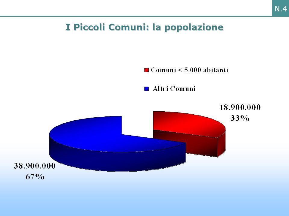 N.4 I Piccoli Comuni: la popolazione