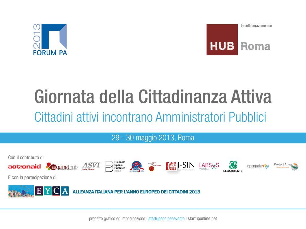 I cittadini e lEuropa LOGO Project Ahead – Italian Social Innovation Network Marco Traversi
