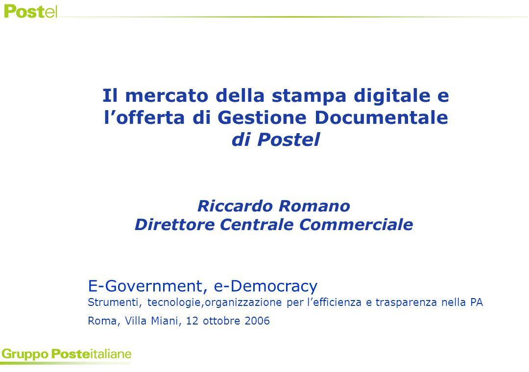 Installato dispositivi per Production Printing Digitale - Italia