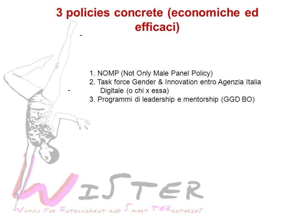 - 3 policies concrete (economiche ed efficaci) - 1.