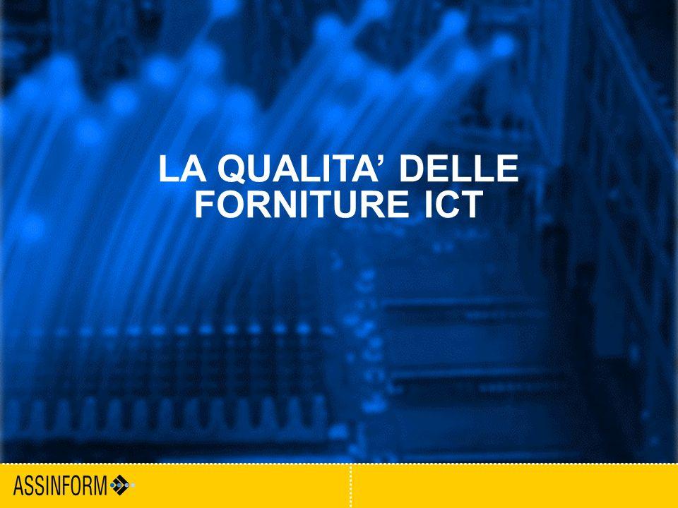 10 Milano, 3 febbraio 2005 Convegno ForumPa LA QUALITA DELLE FORNITURE ICT