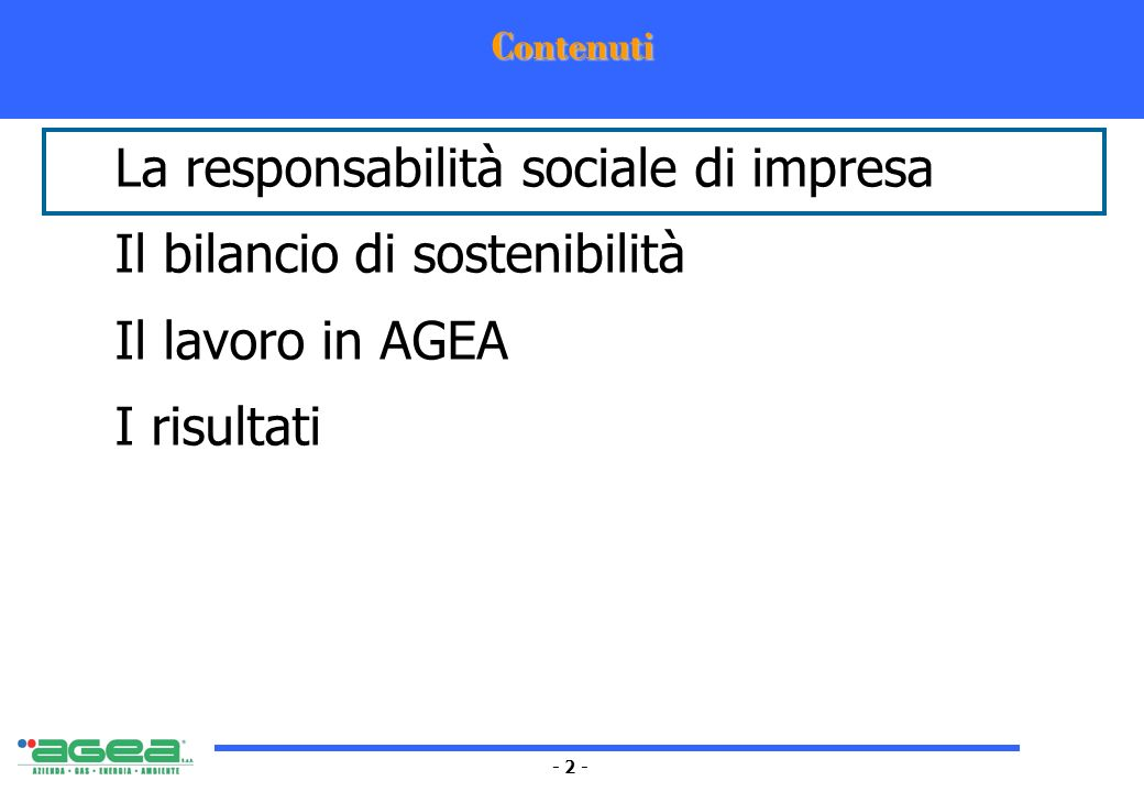 - 3 - La responsabilità sociale di impresa La responsabilità sociale delle imprese è lintegrazione volontaria delle preoccupazioni sociali ed ecologiche delle imprese nelle loro attività ordinarie e nei loro rapporti con gli stakeholder.