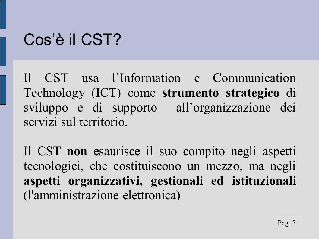 Cosè il CST.