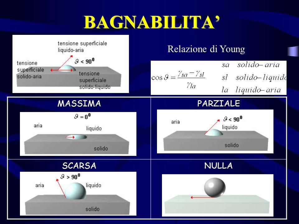 BAGNABILITA Relazione di Young MASSIMAPARZIALE SCARSANULLA