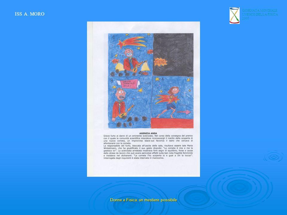 GIORNATA MONDIALE UNESCO DELLA FISICA 2005 Donne e Fisica: un mestiere possibile ISS A. MORO