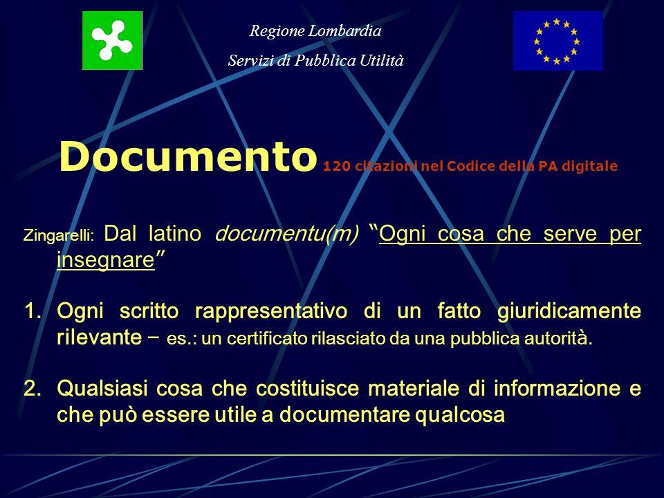 Regione Lombardia Servizi di Pubblica Utilità TRE ATTI ( vità ) IMMATERIALI I dipendenti hanno certificato le presenze e giustificato le assenze.