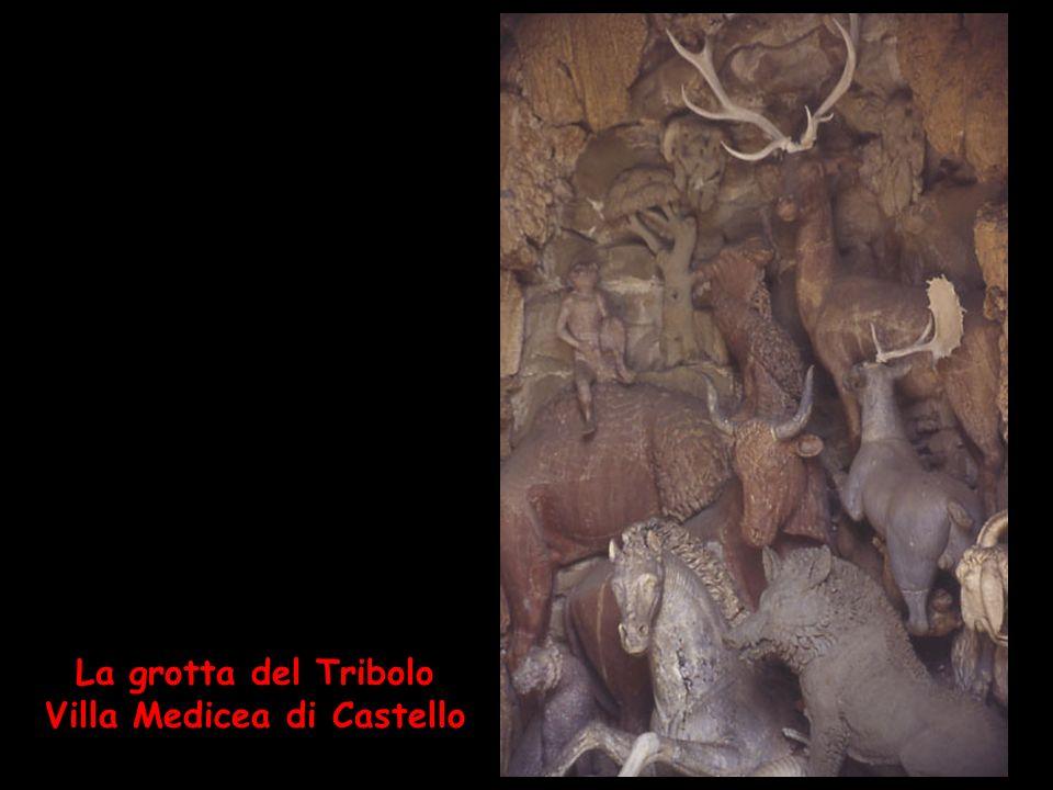 La grotta del Tribolo Villa Medicea di Castello