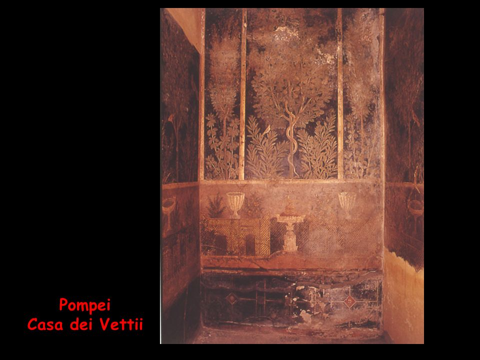 Pompei Casa dei Vettii