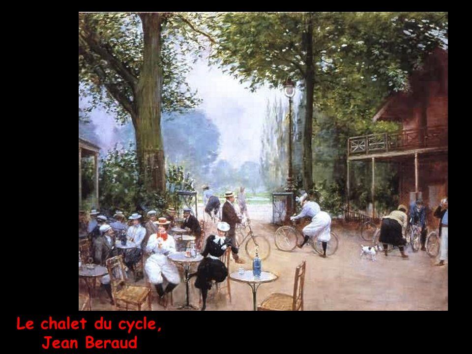 Le chalet du cycle, Jean Beraud