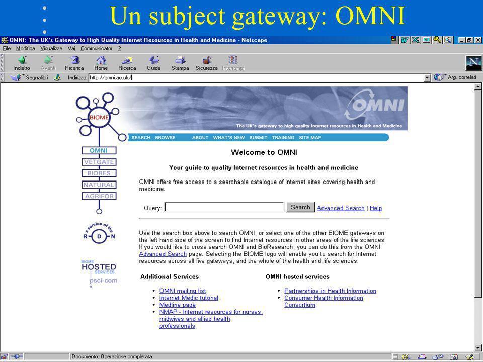 Un subject gateway: OMNI