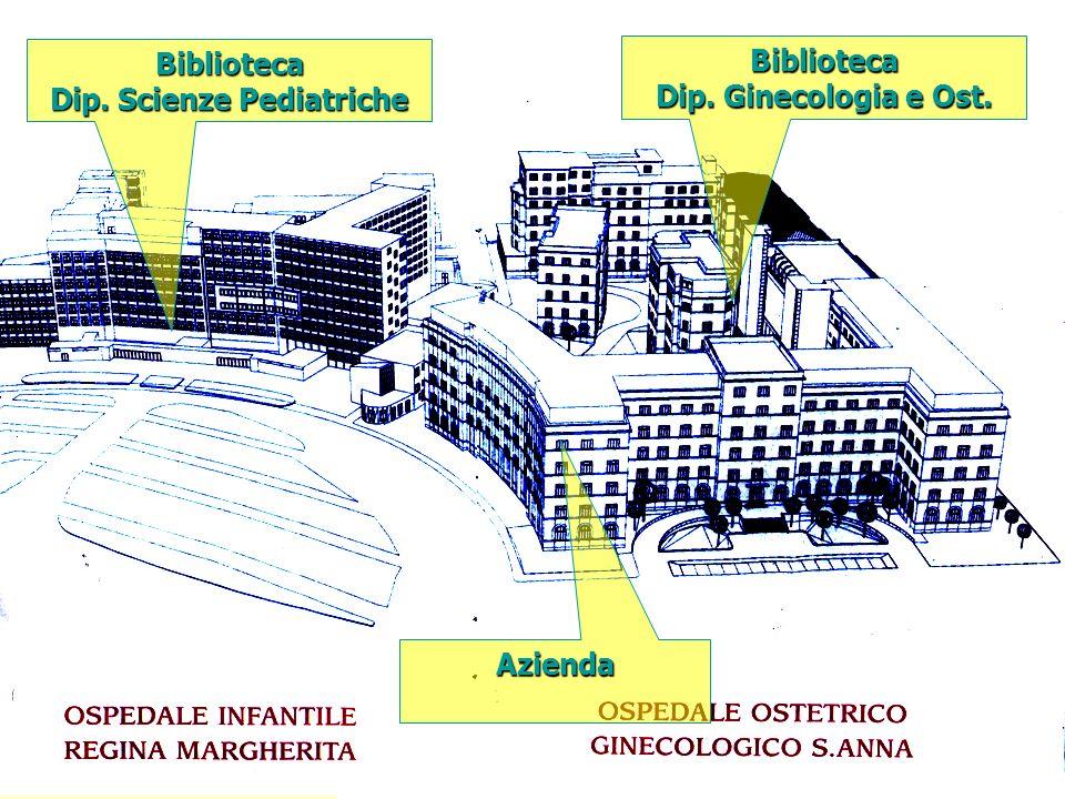 Biblioteca Dip. Scienze Pediatriche Biblioteca Dip. Ginecologia e Ost. Azienda