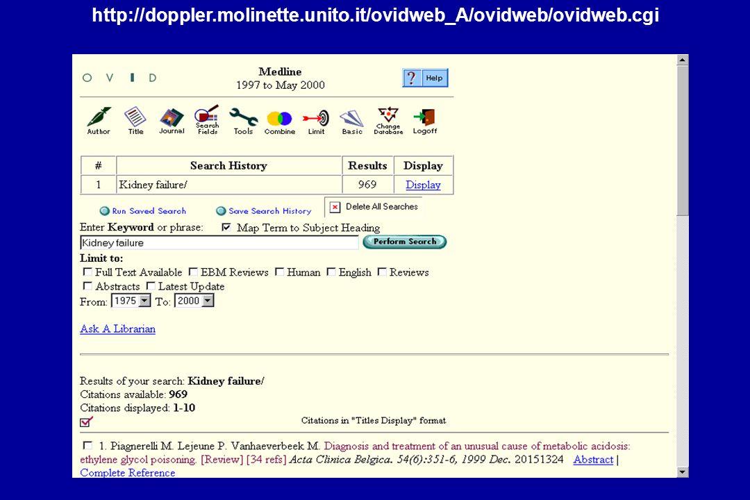 http://doppler.molinette.unito.it/ovidweb_A/ovidweb/ovidweb.cgi