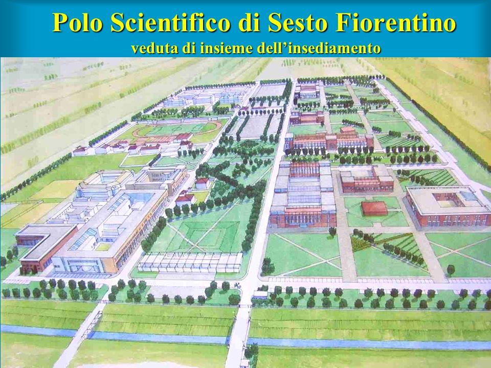 Polo Scientifico di Sesto Fiorentino veduta di insieme dellinsediamento