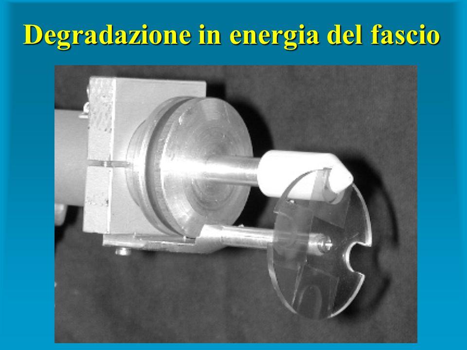 Degradazione in energia del fascio
