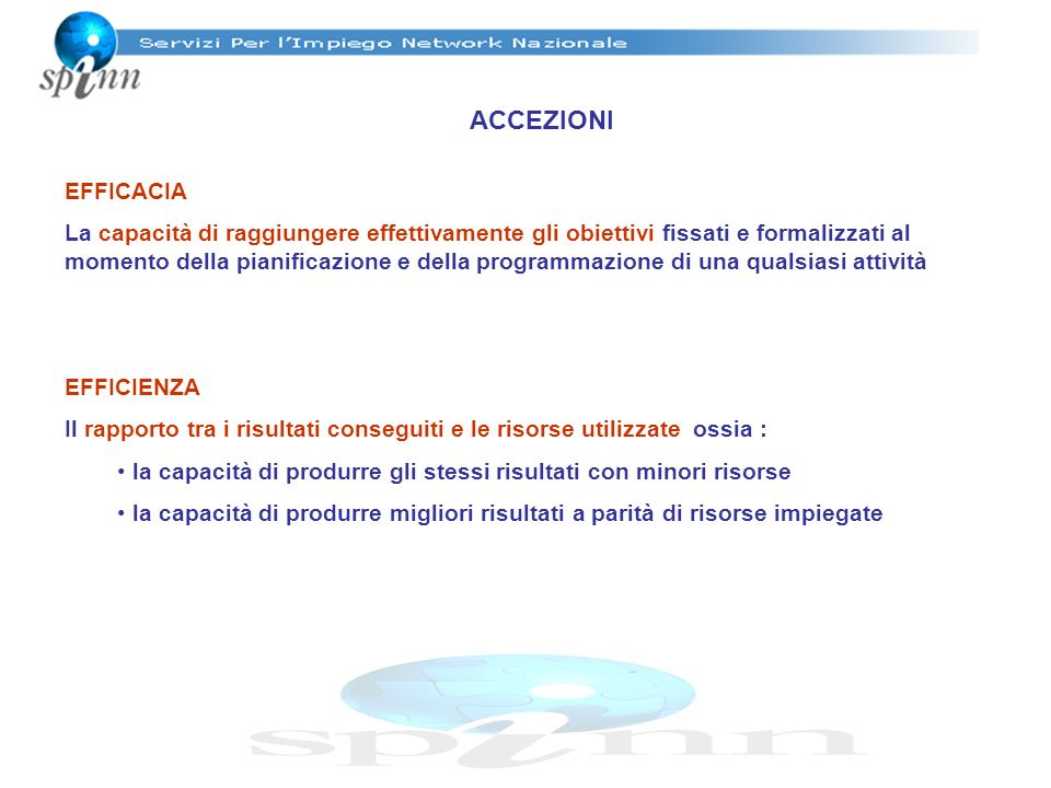 EFFICACIA E TARGET OPERATIVI PAESEOBIETTIVITARGET OPERATIVI GRAN BRETAGNA 1.