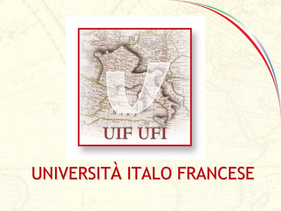 Istituita a seguito del protocollo firmato a Firenze il 6.10.1998 in occasione del vertice italo-francese dai Ministri degli Esteri dei due paesi, lUniversità Italo Francese (UIF) fa parte del piano strategico di internazionalizzazione del sistema universitario italiano.