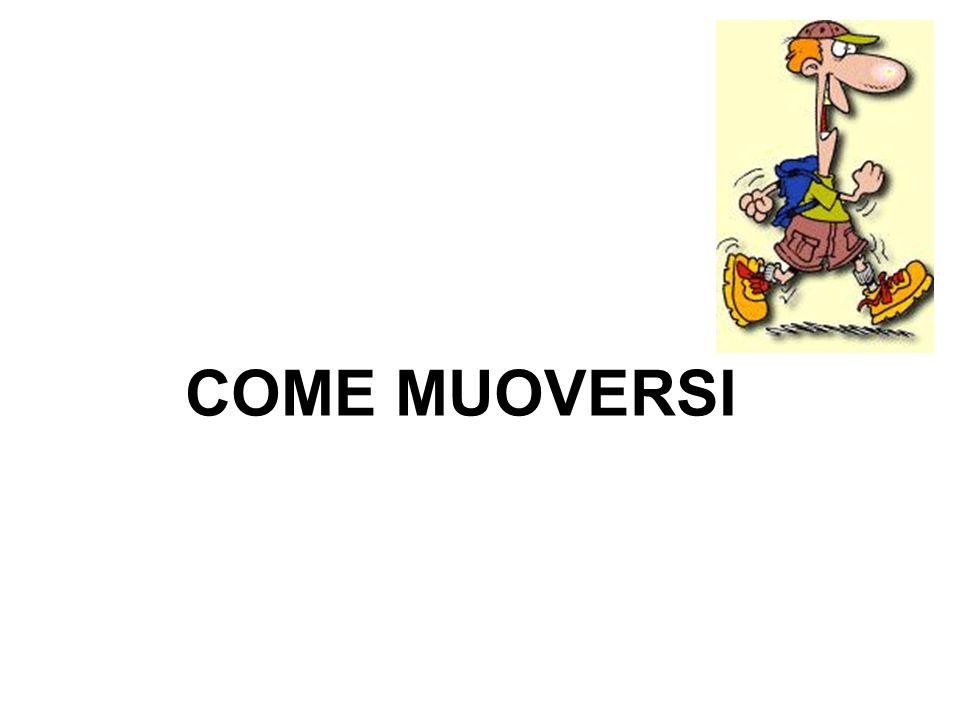 COME MUOVERSI