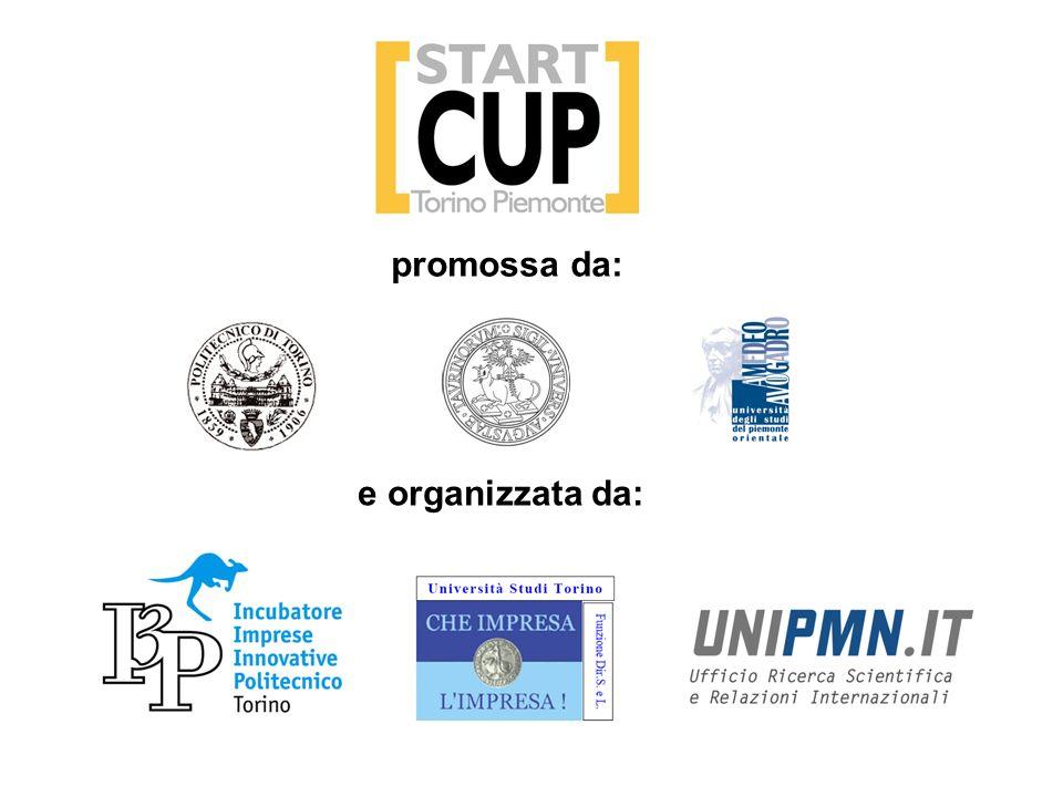 promossa da: e organizzata da: