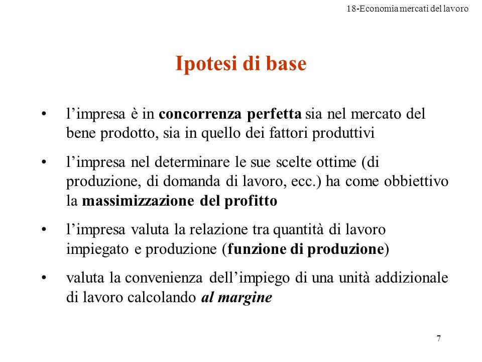 18-Economia mercati del lavoro 38 Problema 8, pag.