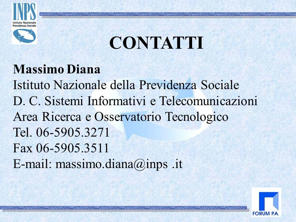 Massimo Diana Istituto Nazionale della Previdenza Sociale D.