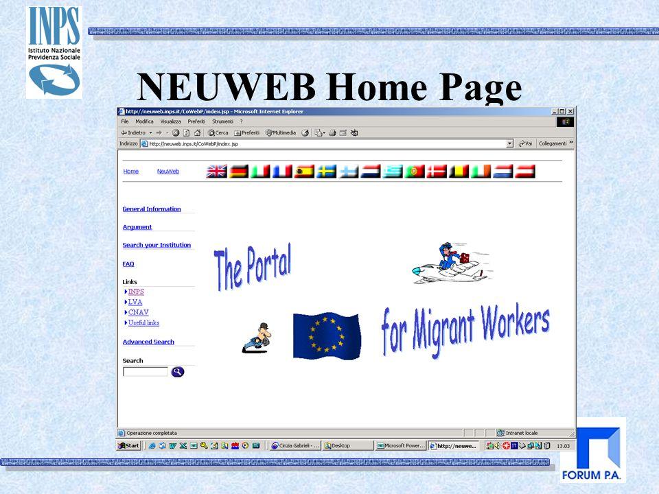 NEUWEB Home Page