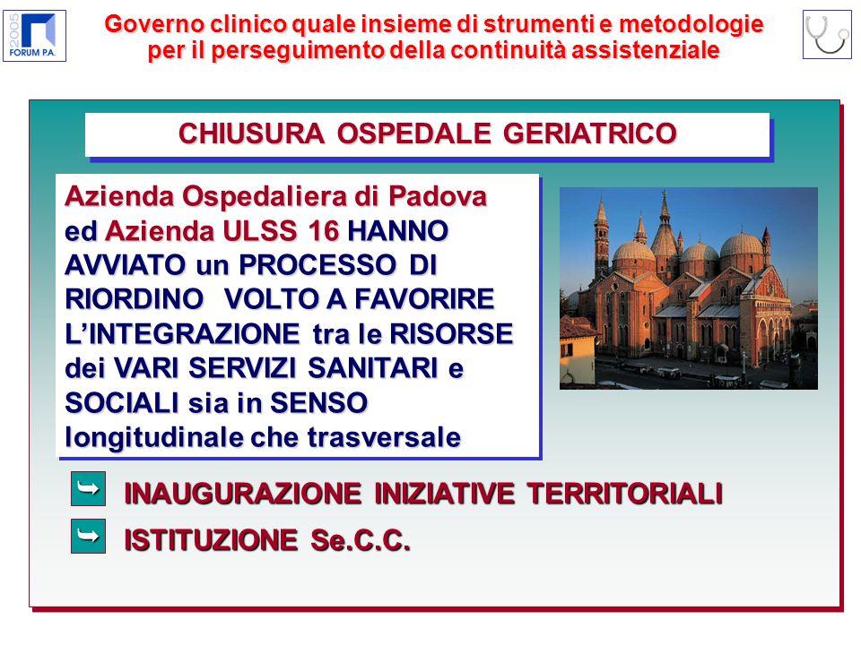 INAUGURAZIONE INIZIATIVE TERRITORIALI ISTITUZIONE Se.C.C.