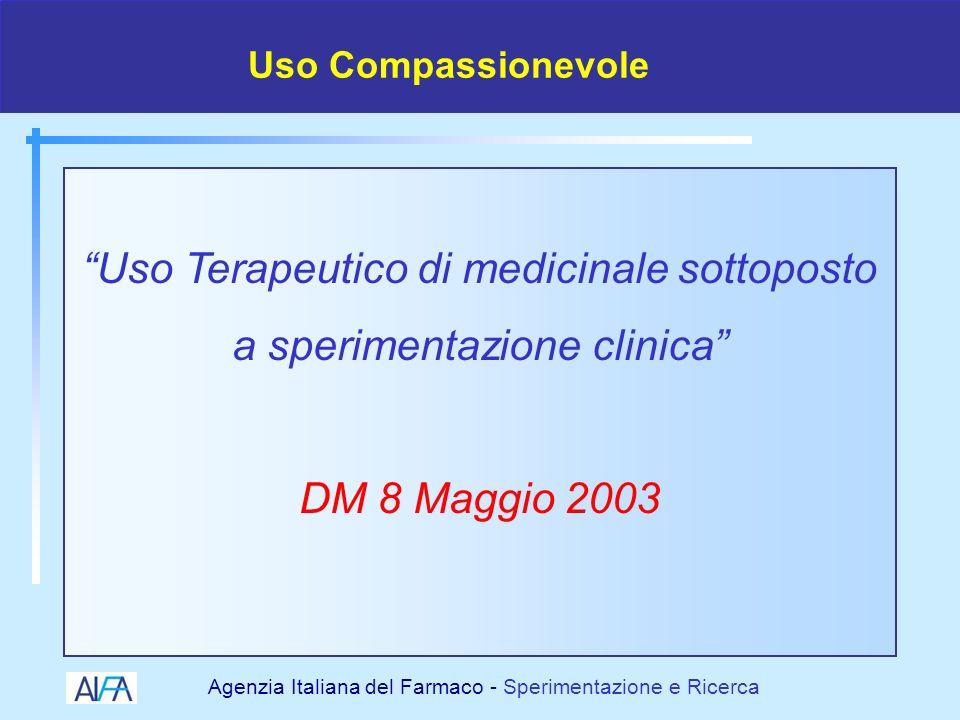 Agenzia Italiana del Farmaco - Sperimentazione e Ricerca 19982000 2001 2002 2003 2004 I cambiamenti normativi della SC 2005 DIRUEDIRUE