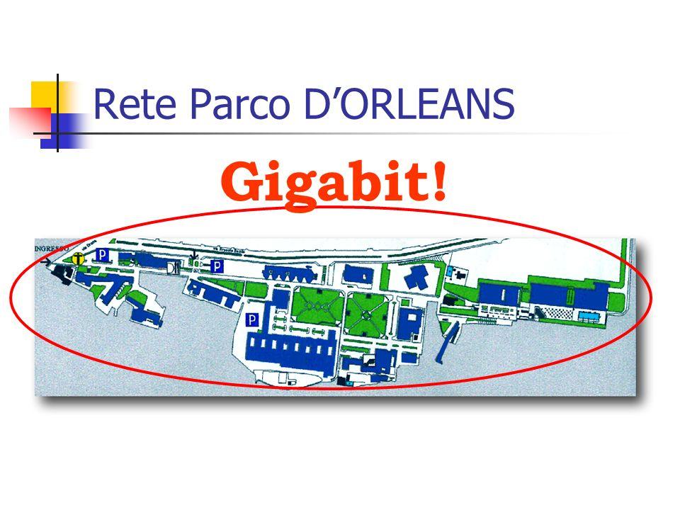 Rete Parco DORLEANS Gigabit!