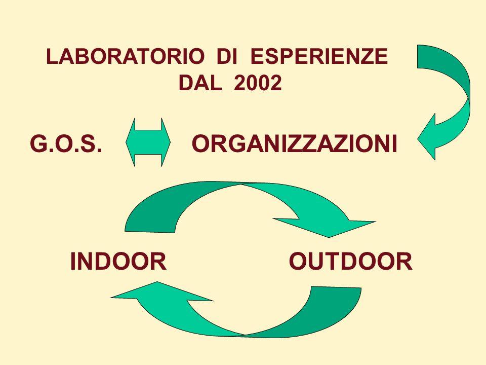 DAL 2002 G.O.S.ORGANIZZAZIONI INDOOR OUTDOOR