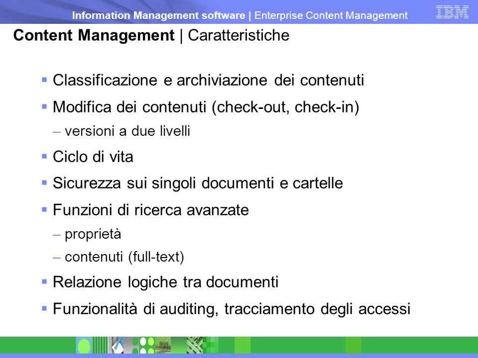 Information Management software | Enterprise Content Management Protocollo Informatico Modello di Gestione Documentale della PA