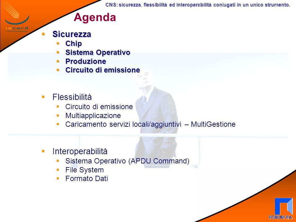 CNS: sicurezza, flessibilità ed interoperabilità coniugati in un unico strumento.