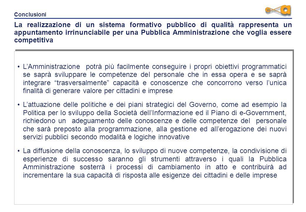 Direttrici di intervento Le direttrici di intervento del DFP si focalizzano sul raggiungimento di elevati standard qualitativi in tema di politiche, o