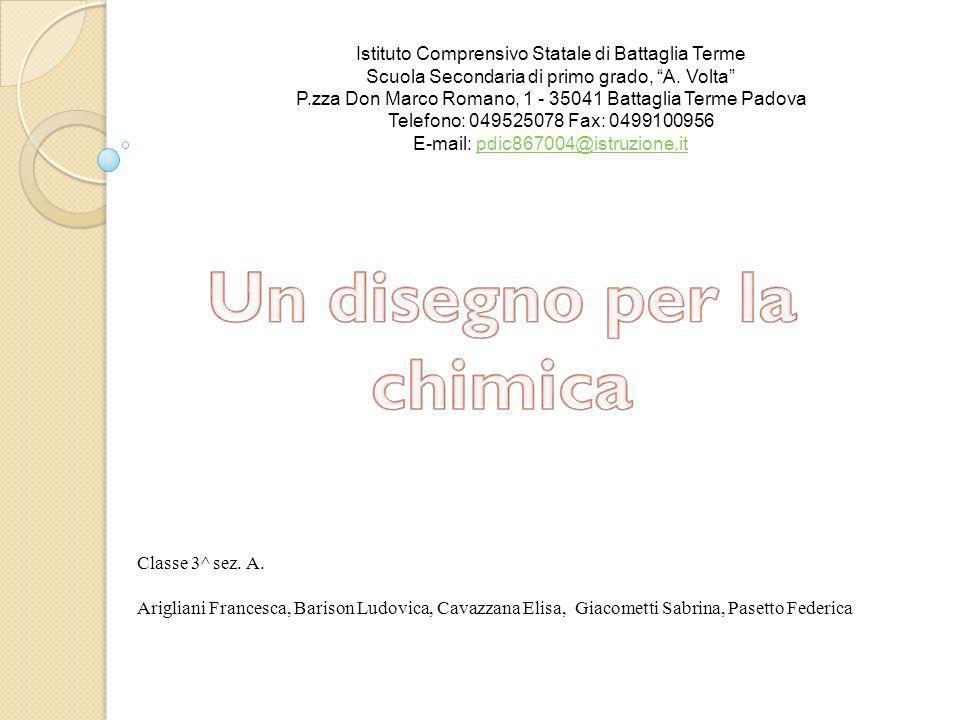 Classe 3^ sez. A. Arigliani Francesca, Barison Ludovica, Cavazzana Elisa, Giacometti Sabrina, Pasetto Federica Istituto Comprensivo Statale di Battagl