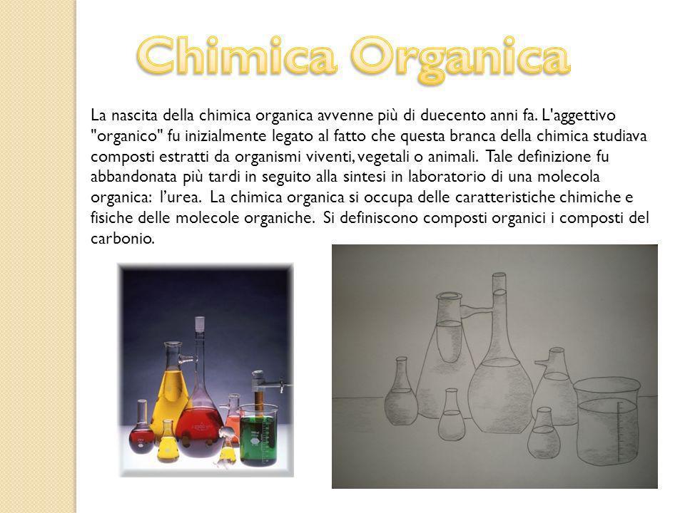 La nascita della chimica organica avvenne più di duecento anni fa. L'aggettivo