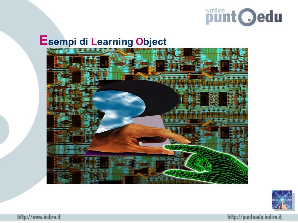 E sempi di Learning Object