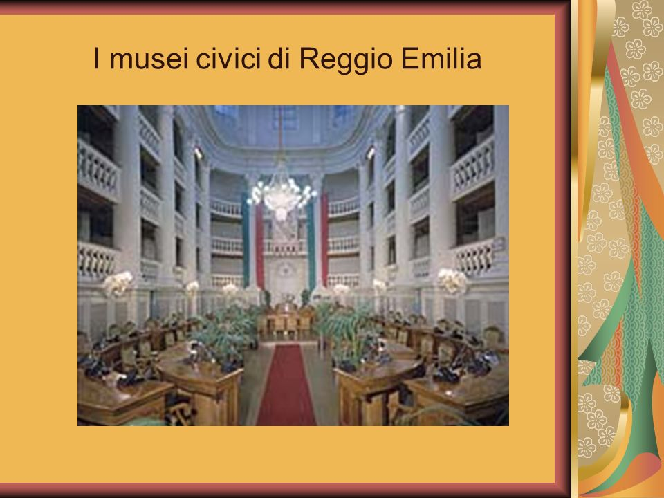 I musei civici di Reggio Emilia