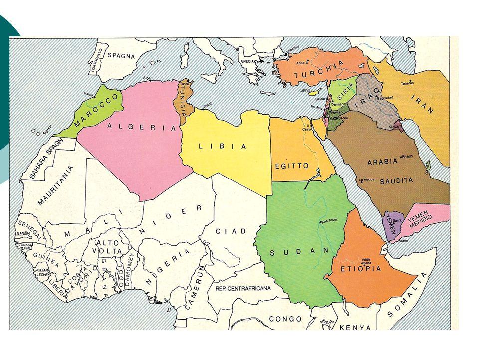 Carta mondo arabo