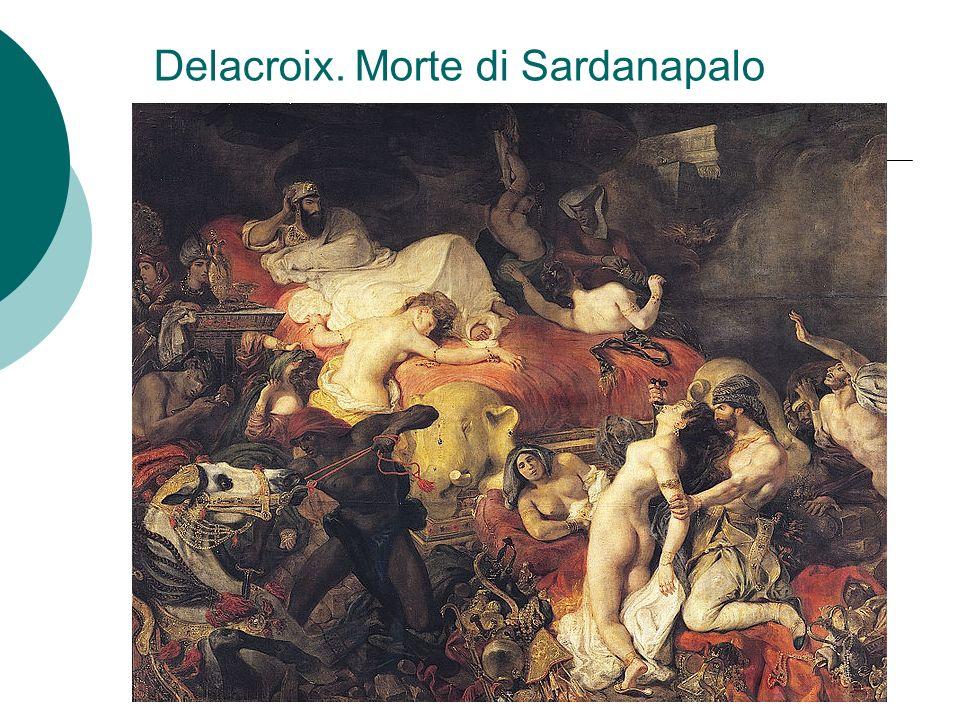 Delacroix. Morte di Sardanapalo