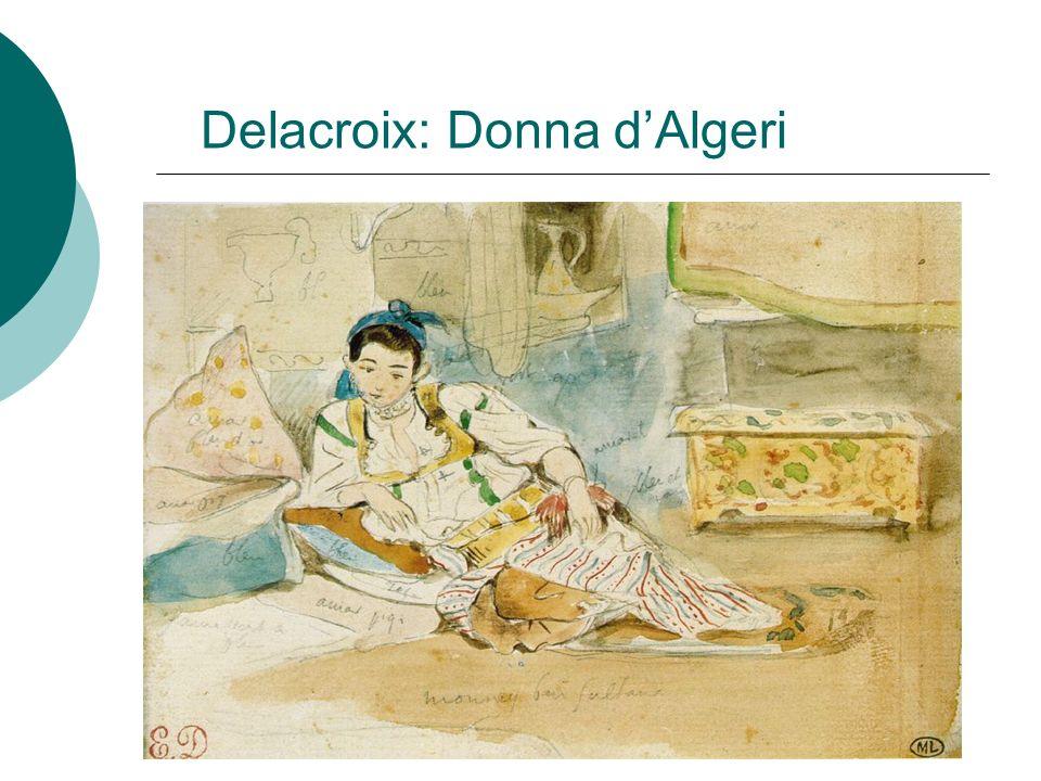 Delacroix: Donna dAlgeri