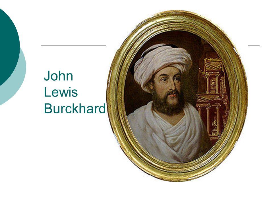 John Lewis Burckhard