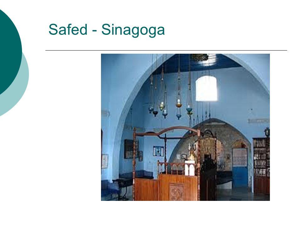 Safed - Sinagoga