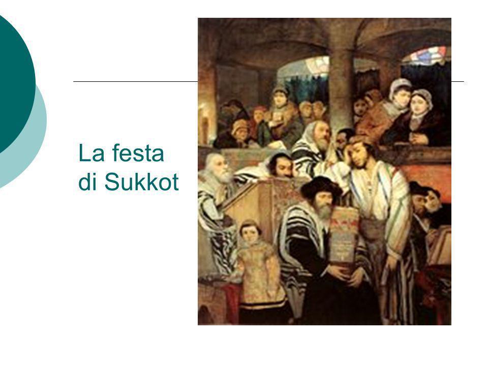 La festa di Sukkot