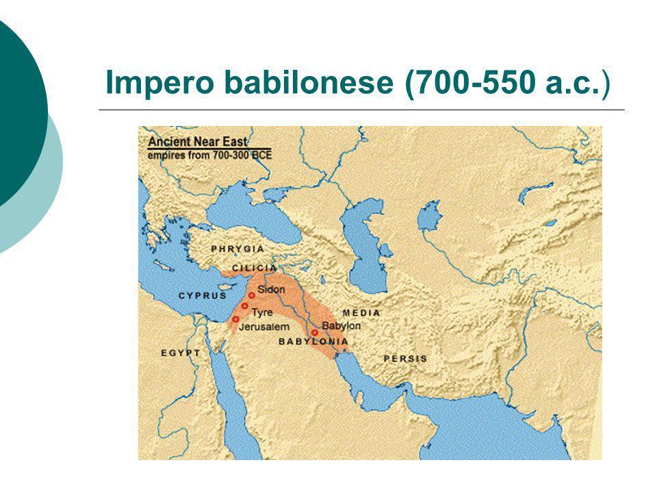 Impero babilonese (700-550 a.c.)