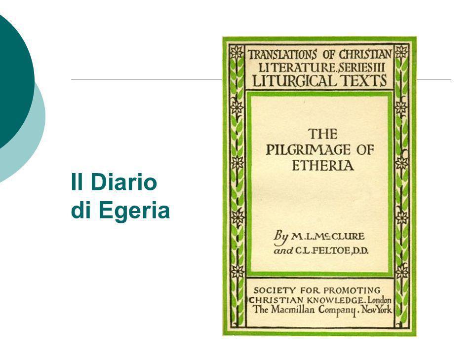 Il Diario di Egeria